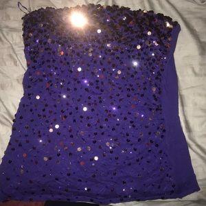Express sleeveless shirt